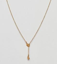 Y-образное ожерелье Bill Skinner - Золотой
