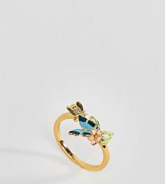 Кольцо с бабочкой Bill Skinner - Золотой