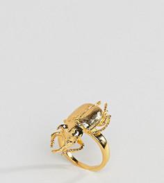 Кольцо с насекомым Bill Skinner - Золотой