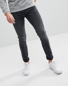 Черные супероблегающие джинсы Weekday Form Trotter - Черный