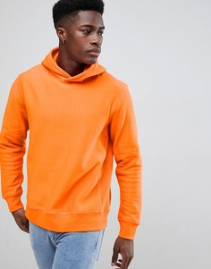 Меланжевый худи Weekday - Оранжевый