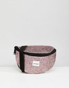 Сумка-кошелек на пояс Spiral Jewels - Розовый