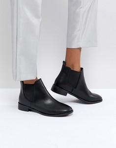 Черные ботинки челси на плоской подошве RAID - Черный