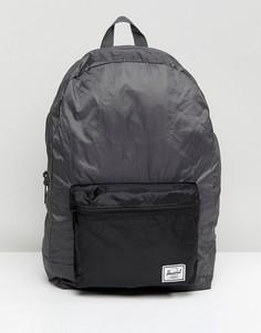 Складывающийся рюкзак вместимостью 24,5 л Herschel Supply Co - Черный