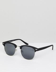 Черные солнцезащитные очки в стиле ретро AJ Morgan - Черный
