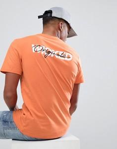 Футболка с принтом Wicked Jack & Jones Originals - Оранжевый