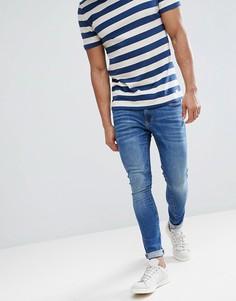Суперзауженные джинсы River Island - Синий
