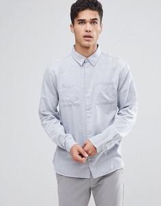 Рубашка с длинными рукавами Bellfield - Синий