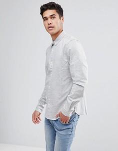 Рубашка с длинными рукавами Bellfield - Серый
