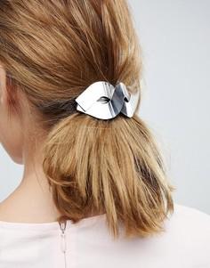 Металлическая заколка для волос ASOS - Серебряный