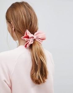 Заколка для волос с бантом ASOS - Розовый