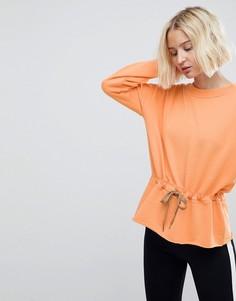 Яркий свитшот с поясом Vero Moda - Оранжевый