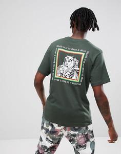 Зеленая футболка с логотипом Billionaire Boys Club - Зеленый