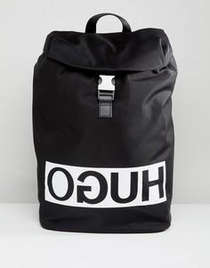 Черный рюкзак с логотипом HUGO - Черный