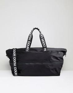 Черная сумка с логотипом HUGO - Черный