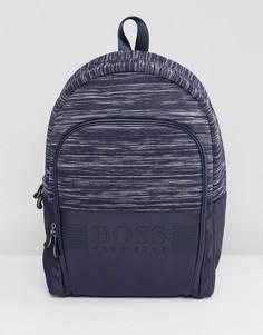 Темно-синий рюкзак BOSS - Темно-синий