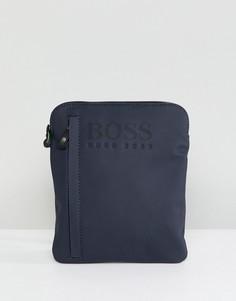 Темно-синяя сумка для полетов BOSS - Темно-синий