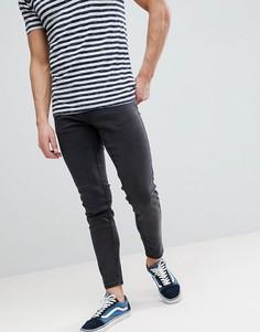 Темно-серые джинсы узкого кроя Farah Howells - Серый