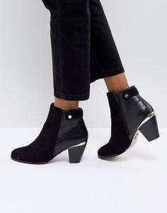 Ботинки с заклепками Lipsy - Черный