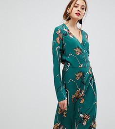 Платье с принтом Y.A.S Tall - Мульти