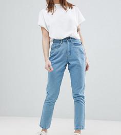 Джинсы в винтажном стиле Noisy May Petite - Синий
