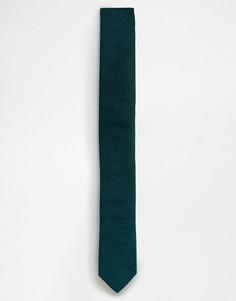 Зеленый фактурный галстук ASOS - Зеленый