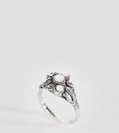 Серебряное кольцо с лунным камнем Kingsley Ryan - Серебряный