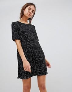 Платье в горошек Glamorous - Черный