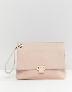 Розовая сумка с ремешком на запястье Faith - Розовый