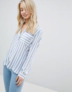 Рубашка в полоску Only - Синий
