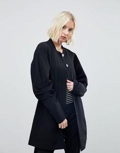 Пальто с объемными рукавами Vero Moda - Черный