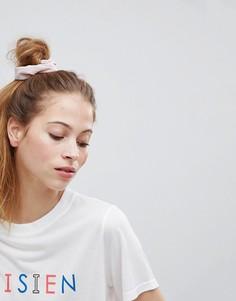 Плиссированная резинка для волос ASOS - Розовый