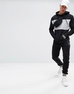 Черный спортивный костюм boohooMAN - Черный