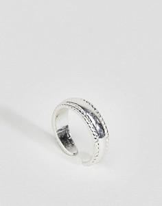 Минималистское кольцо на палец ноги ASOS - Серебряный