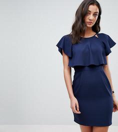 Платье мини ASOS TALL - Темно-синий