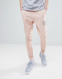 Джоггеры с логотипом Only & Sons - Розовый