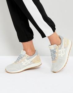 Серо-кремовые кроссовки Asics Gel-Lyte - Белый