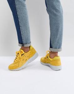 Желтые кроссовки Asics Gel - Белый