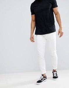 Белые эластичные джинсы скинни River Island - Белый