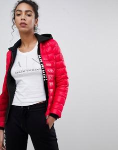 Дутая куртка Armani Exchange - Красный