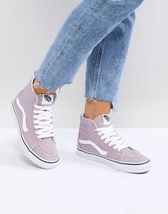 Высокие кроссовки Vans - Фиолетовый