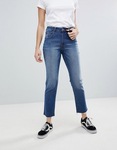 Укороченные джинсы слим Cheap Monday - Синий