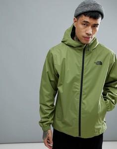 Зеленая водонепроницаемая куртка с капюшоном The North Face Quest - Зеленый