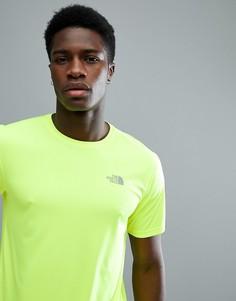 Желтая футболка с логотипом The North Face Mountain Athletics Running - Желтый