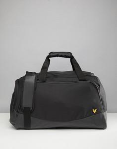 Черная сумка Lyle & Scott Fitness Buchanan - Черный