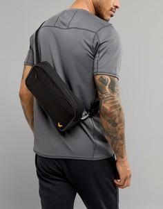 Черная сумка-кошелек на пояс Lyle & Scott Fitness Sports - Черный