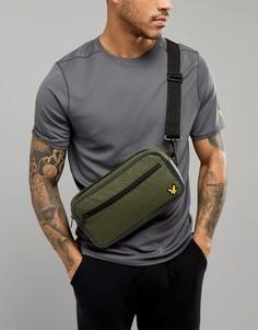 Зеленая сумка-кошелек на пояс Lyle & Scott - Зеленый
