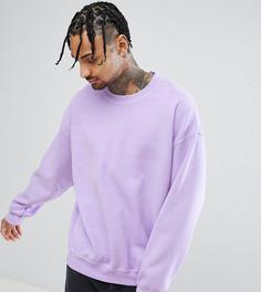 Сиреневый свитшот Reclaimed Vintage Inspired - Фиолетовый