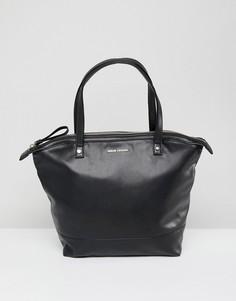 Черная квадратная сумка-тоут Armani Exchange - Мульти
