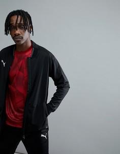 Черная спортивная куртка Puma Football NXT 65555201 - Черный